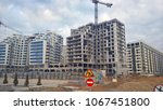 buildings in the city panorama. ...   Shutterstock . vector #1067451800