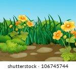 Illustration Of A Beautiful...