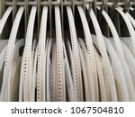 paper reels with various... | Shutterstock . vector #1067504810