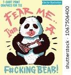 swag print   cute panda....   Shutterstock .eps vector #1067506400