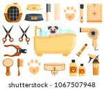 luxury rich cute wood dark... | Shutterstock .eps vector #1067507948