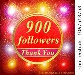 bright followers background.... | Shutterstock .eps vector #1067513753
