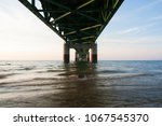 view from directly underneath... | Shutterstock . vector #1067545370