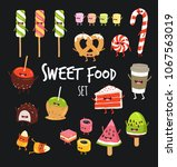 funny sweet food icon. you can... | Shutterstock .eps vector #1067563019
