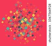 rhombus backdrop minimal... | Shutterstock .eps vector #1067566928