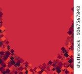 rhombus template minimal... | Shutterstock .eps vector #1067567843