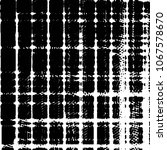 grunge halftone black and white ... | Shutterstock . vector #1067578670