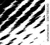 black and white grunge stripe... | Shutterstock . vector #1067580140