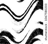 black and white grunge stripe... | Shutterstock . vector #1067580203