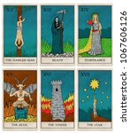 Tarot Deck Part 3 Of 4  Old...