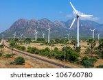 Wind Turbines On The Road