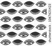 abstract black blinking... | Shutterstock .eps vector #1067621423