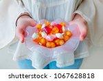 traditional turkish ramadan... | Shutterstock . vector #1067628818