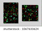 dark green  redvector brochure...