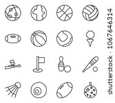 flat vector icon set   network... | Shutterstock .eps vector #1067646314