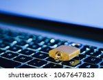 lock as symbol for privacy and...   Shutterstock . vector #1067647823