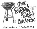 food meat  steak  roast grilled ...   Shutterstock .eps vector #1067672054