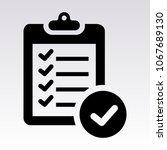 checklist icon. check list icon....
