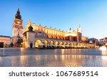 krakow  poland at night | Shutterstock . vector #1067689514