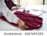 two professional stylish... | Shutterstock . vector #1067691353