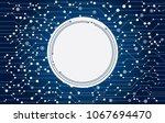 circuit board. technology... | Shutterstock .eps vector #1067694470