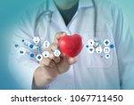 medicine heart medicine doctor  ... | Shutterstock . vector #1067711450