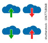 set download and upload cloud...