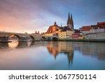 regensburg. cityscape image of... | Shutterstock . vector #1067750114