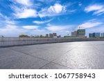 empty marble floor with... | Shutterstock . vector #1067758943