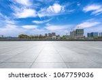 empty marble floor with... | Shutterstock . vector #1067759036