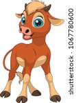 vector illustration of a funny... | Shutterstock .eps vector #1067780600