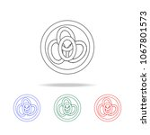 onion rings icon. elements of...   Shutterstock .eps vector #1067801573