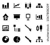 flat vector icon set  ...   Shutterstock .eps vector #1067808209