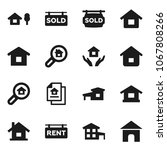 flat vector icon set   house... | Shutterstock .eps vector #1067808266