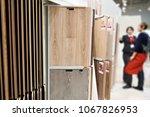 buyer and seller discuss the... | Shutterstock . vector #1067826953