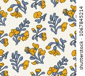 padauk flower  pterocarpus...   Shutterstock .eps vector #1067845214