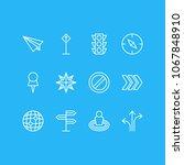 vector illustration of 12... | Shutterstock .eps vector #1067848910
