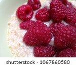 Close Up Photo Of Raspberries...