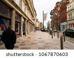 cardiff  uk   may 18  2017  old ... | Shutterstock . vector #1067870603