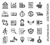 banking and financial icon in...   Shutterstock .eps vector #1067892434