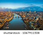 london  england   panoramic... | Shutterstock . vector #1067911508