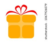 present icon  vector gift box   ... | Shutterstock .eps vector #1067926079