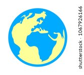 world icon   globe earth... | Shutterstock .eps vector #1067926166