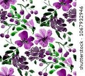 watercolor seamless pattern... | Shutterstock . vector #1067932946