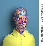 3d rendering of abstract human... | Shutterstock . vector #1067934389