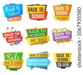 creative back to school... | Shutterstock . vector #1067935580