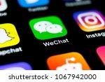 sankt petersburg  russia  april ... | Shutterstock . vector #1067942000