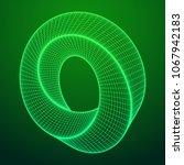 mobius strip ring sacred... | Shutterstock .eps vector #1067942183