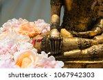 Right Hand Of Gold Buddha...