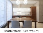 interior of modern kitchen | Shutterstock . vector #106795874